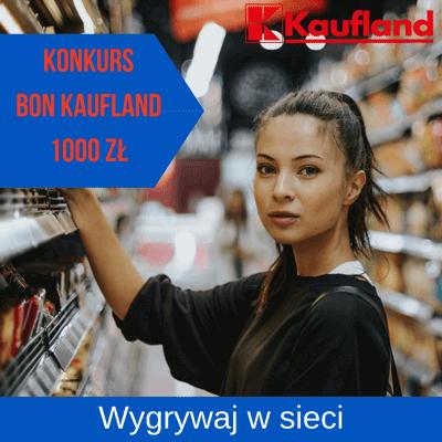 Konkurs internetowy z nagrodami pieniężnymi do Kaufland