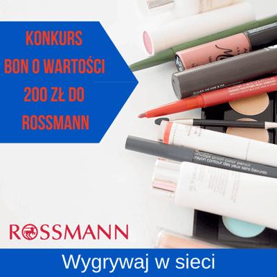 Konkurs online z bonami na zakupy do Rossmann
