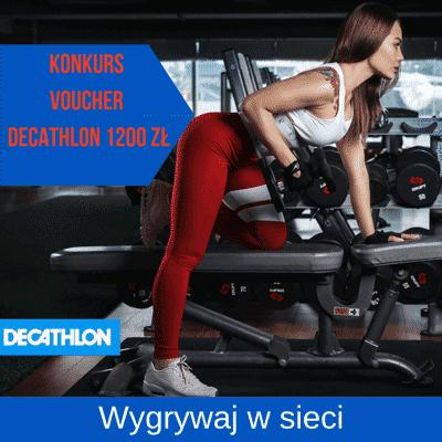 Najnowszy konkurs internetowy z bonami do Decathlon