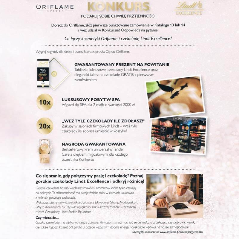 Konkurs Oriflame – Darmowy krem
