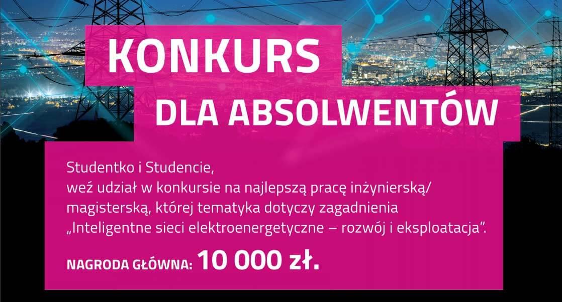 Konkurs Tauron dla Absolwenta studiów