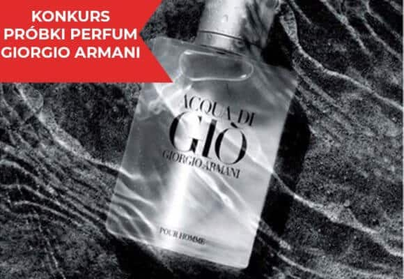 Konkurs Perfumy Armani