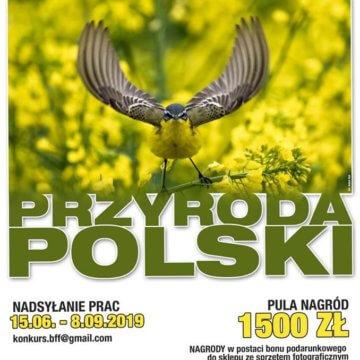 """Konkurs Fotograficzny """"Przyroda Polski"""""""