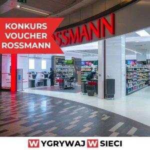 Konkurs Rossmann karta podarunkowa