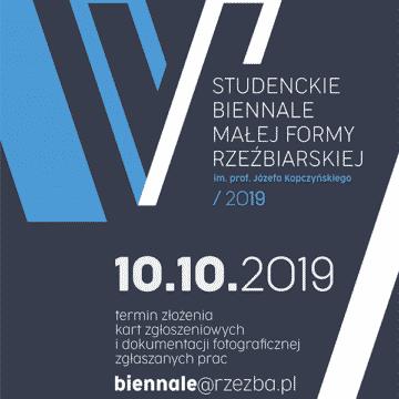 V studenckie Biennale Małej Formy Rzeźbieraskiej im. Józefa Kopczyńskiego 2019